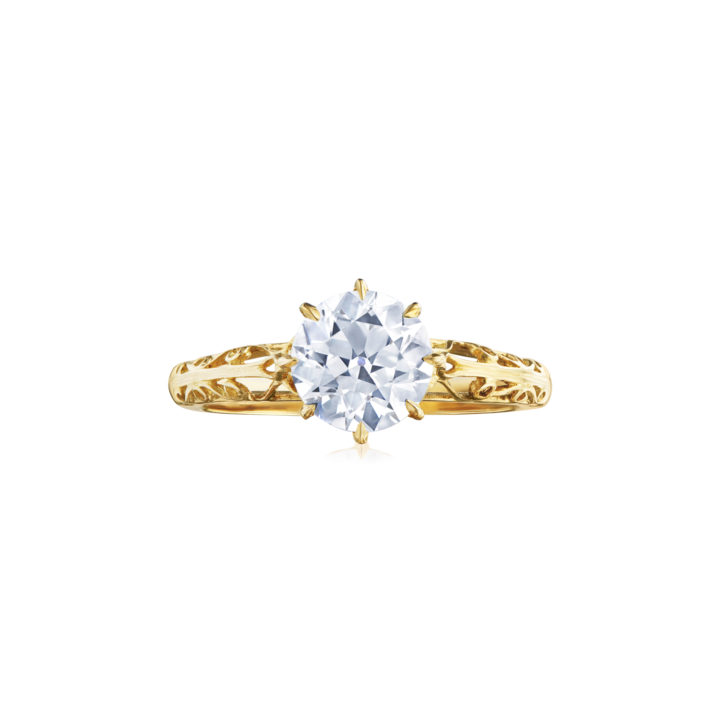 Fred Leighton Round® Diamond Engagement Ring